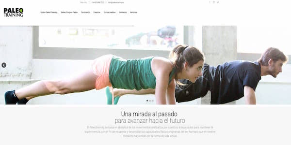 Paleo Training - Mantenimiento web - SEO - wordpress -1200x600
