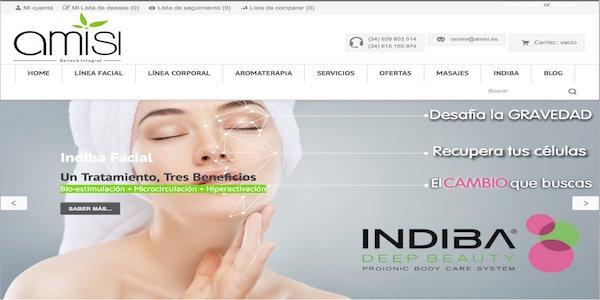 Amisi - Web design - SEO - Responsive - Prestashop