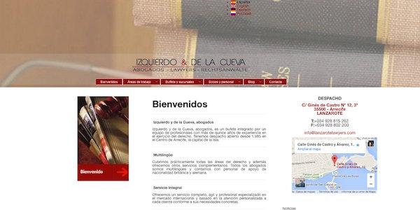 Lanzarote Abogados - Izquierdo y de la Cueva