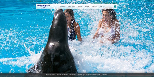 Rancho Texas Lanzarote Park - Web design - Responsive - Wordpress