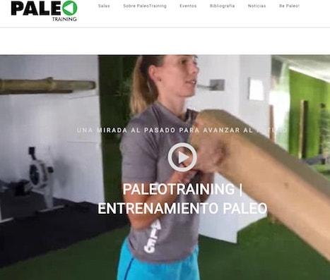 ¡Nueva web entregada, Paleotraining.com!